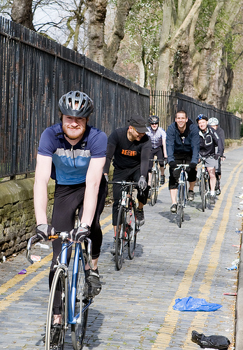 cycling in whitechapel