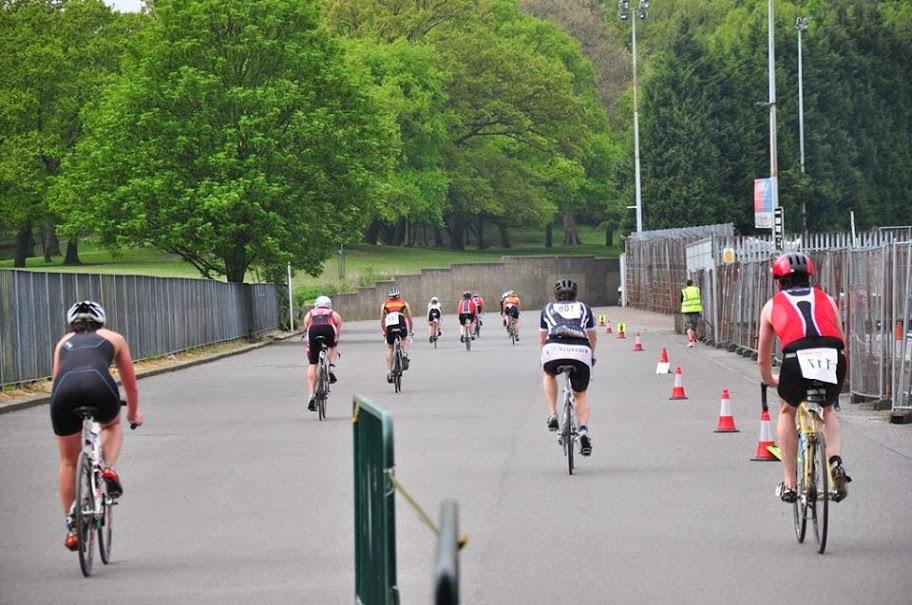 Bike at Crystal Palace Triathlon