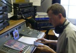 Steve Davis on the radio