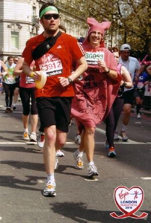 London marathon 2010