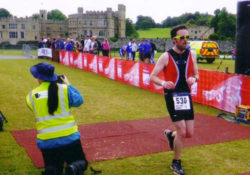 Leeds Castle finish line