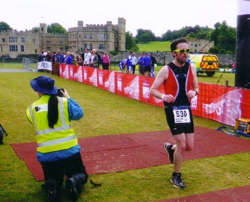 Leeds Castle finish line