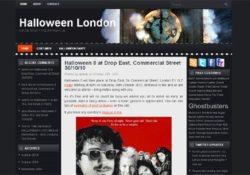 New halloween site