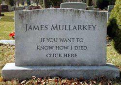 My own gravestone
