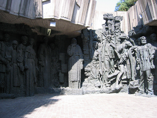 Communist mural, National Museum of the History of Ukraine in the Second World War