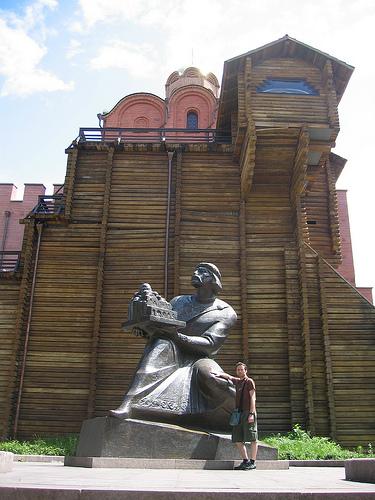 Golden gate, Kiev