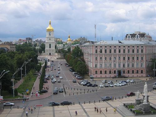 Skyline view, Kiev