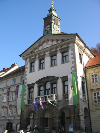 Town hall in Ljubljana