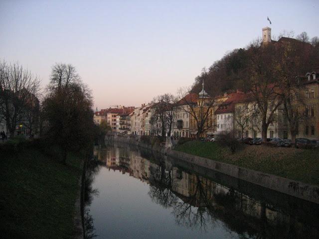 Ljubjanica river