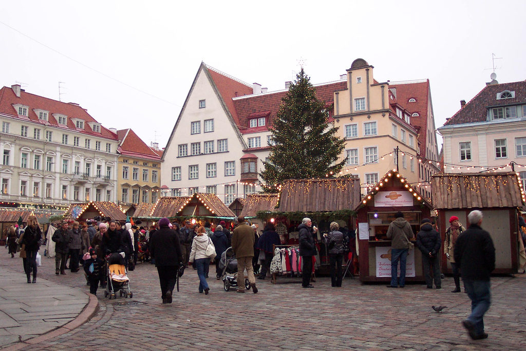 Tallinn Market Square Christmas Fair