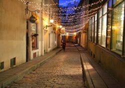 Tallinn cobbled street