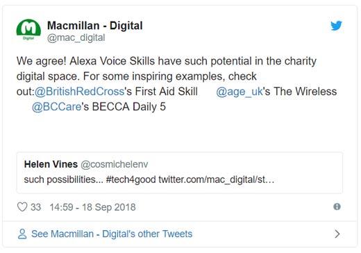 Macmillan amazon tweet