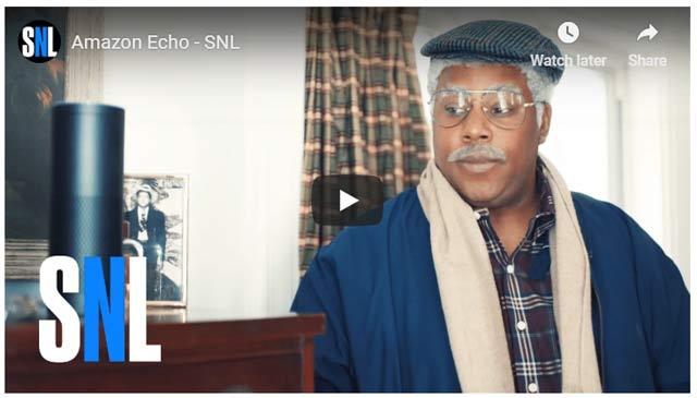 SNL Amazon parody film