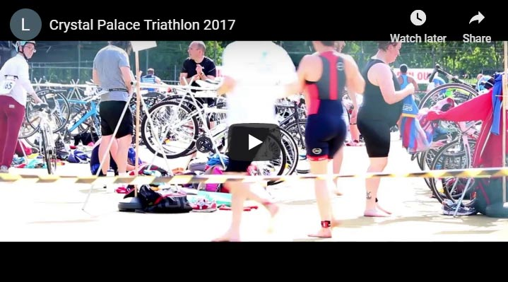 Crystal Palace Triathlon You Tube