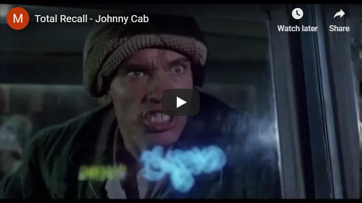 Johnny cab you tube video