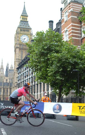 Bike leg near Westminster