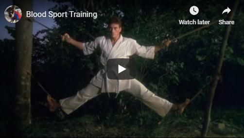 Bloodsport training montage
