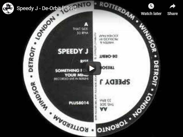 Speedy J De-orbit at 33rpm