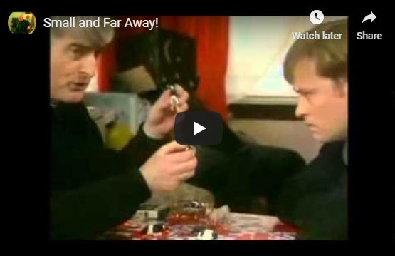 Father Ted clip - small, far away