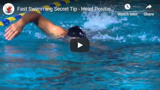 Head position swimming video part 2