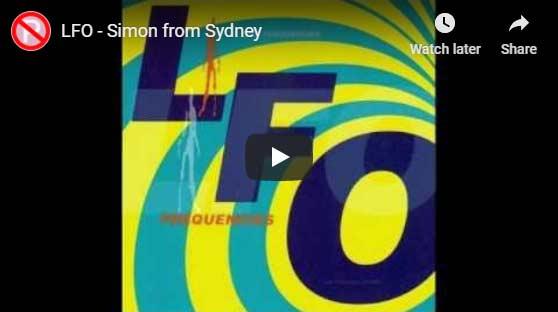 LFOSimon from Sydney video