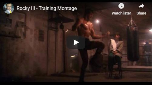 Rocky 3 training montage