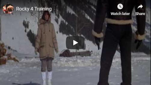 Rocky 4 training montage
