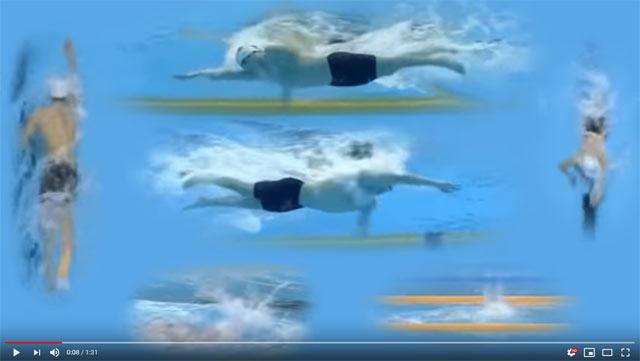 Sun Yang technique video - YouTube