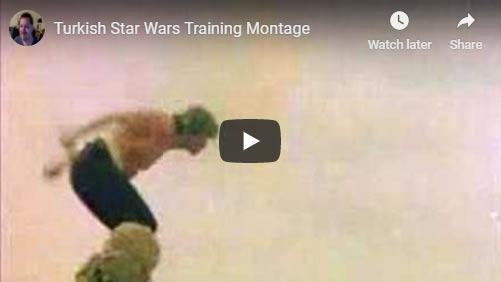Turkish STar Wars training montage
