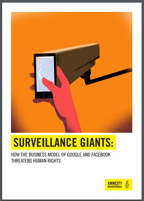 Surveillance Giants report cover