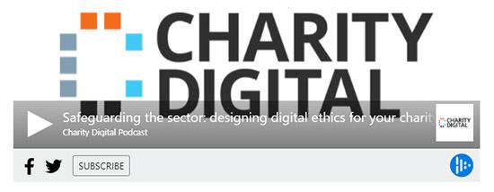 Ethics in charities podcast 1 screenshot